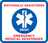 Emergency Medical Responder Sticker